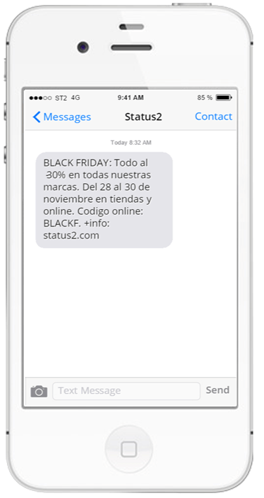 Envío de e-mails y SMStransp